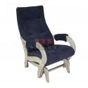 Кресло-качалка гляйдер Модель 708 (Verona Denim Blue, шампань патина)