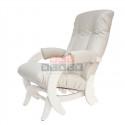 Кресло гляйдер Модель 68 (Polaris Beige /Дуб шампань )