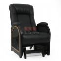 Кресло гляйдер Мод.48 (Дунди-109/Венге) Коричневый