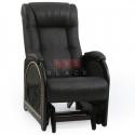 Кресло гляйдер Мод.48 (Дунди-108/Венге) Коричневый