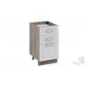 Шкаф напольный с 3-мя ящиками Н3я_72-45_3Я (Бежевый)