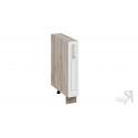 Шкаф напольный с выдвижной корзиной НВК_72-15_ВК (Бежевый)