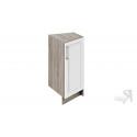 Шкаф напольный торцевой НТ_72-40(45)_1ДР (Бежевый)