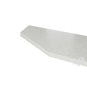 Крышка стола торцевая 40х600х1500 левая С(п)40Т_60-150 L