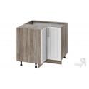 Шкаф напольный угловой с углом 90° НУ90_72_2ДР(НУ) (Бежевый)