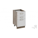 Шкаф напольный с 3-мя ящиками Н3я(Т)_72-45_3Я (Бежевый)