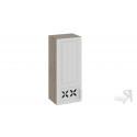 Шкаф навесной c декором (левый) В_96-40_1ДРД(L) (Бежевый) 96 см