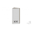 Шкаф навесной торцевой c декором ВТ_96-40(45)_1ДРД(R) (Бежевый) 96 см
