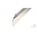 ДО-017 Профиль Угловой алюминиевый для столешниц 28мм ДО-017