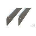 ДО-012 Профиль Торцевой алюминиевый для столешниц 40мм ДО-012