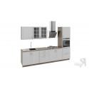 Кухонный гарнитур длиной - 240 см (с пеналом ПБ) ГН72_300_2 (ПБ)
