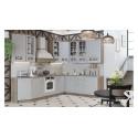 Угловая кухня длиной - 280 х 210 см (со шкафом НБ) ГНУ96_280-210_1(НБ)_L