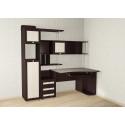 Большой компьютерный стол Мебелайн 17