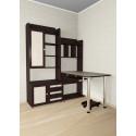 Компьютерный стол с надстройкой Мебелайн 20