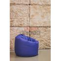 Кресло Плюшка Синяя