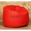 Кресло Плюшка Красная