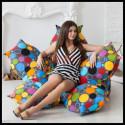 Кресло бескаркасное Цветок (Пузырьки)