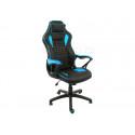 Компьютерное кресло Leon черное / голубое