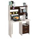 Компьютерный стол Домино Lite СКЛ-ПРЯМ100+НКЛ-100