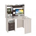 Компьютерный стол Домино Lite СКЛ-Угл120+НКЛ-120 (левый)