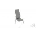 Стул «Комфорт-М» СРП-048 Гранд (Эмаль Бриллиант, Микрофибра Серый)
