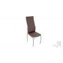 Стул «Комфорт-М» СРП-048 Гранд (Эмаль Бриллиант, Микрофибра Шоколад)