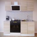 Прямой кухонный гарнитур ПН-04+ТК-04.1+ПН-08+ТК-08м