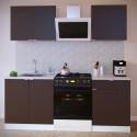 Прямой кухонный гарнитур ПН-08+ТК-08м+ПН-06+ТК-06.1