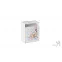 Комод комбинированный «Тедди» (Белый с рисунком) ТД-294.04.03