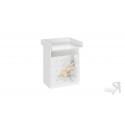 Комод комбинированный со столом пеленальным «Тедди» (Белый с рисунком) СМ-294.04.001