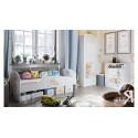 Набор детской мебели «Тедди» №2 (Белый с рисунком)