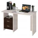 Компьютерный стол Домино Lite СКЛ-Прям120 (правый)