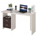 Компьютерный стол Домино Lite СКЛ-Прям130 (правый)