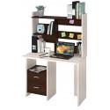 Компьютерный стол Домино Lite СКЛ-Прям100+НКЛ-100 (правый)