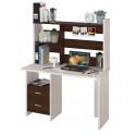 Компьютерный стол Домино Lite СКЛ-Прям120+НКЛ-120 (правый)