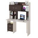 Компьютерный стол Домино Lite СКЛ-Прям130+НКЛХ-130 (правый)