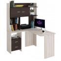 Компьютерный стол Домино Lite СКЛ-Угл130+НКЛХ-120 (левый)