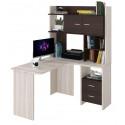 Компьютерный стол Домино Lite СКЛ-Угл130+НКЛХ-120 (правый)