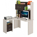 Компьютерный стол Домино Lite СКЛ-Угл130+НКЛХ-130 (левый)