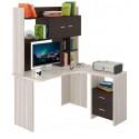 Компьютерный стол Домино Lite СКЛ-Угл130+НКЛХ-130 (правый)