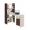 Компьютерный стол Домино Lite СТЛ-ОВ+С120Прям+ТЯЛ
