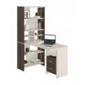 Компьютерный стол Домино Lite СТЛ-ОВХ+С100Прям+ТЯЛ