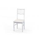 Стул М16 белая эмаль к/з кв 03