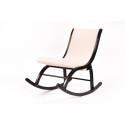 """Кресло-качалка """"Люцерн"""" (ткань Гардения)"""