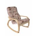 "Кресло-качалка ""Сайма"" (ткань Газета)"