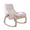 """Кресло-качалка """"Сайма"""" (ткань Ваниль)"""
