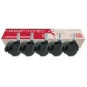 Набор колес c механической блокировкой BlockCastorSet3850