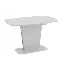 Стол раздвижной «Честер» Тип 2 (Белый/Стекло белый глянец (оптивайт))