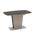 Стол раздвижной «Честер» Тип 2 (Дуб сонома трюфель/Стекло коричневое глянец)