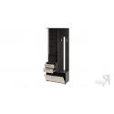 Шкаф-секция комбинированная «Витра» тип 1 (Венге Цаво/Дуб Белфорт)